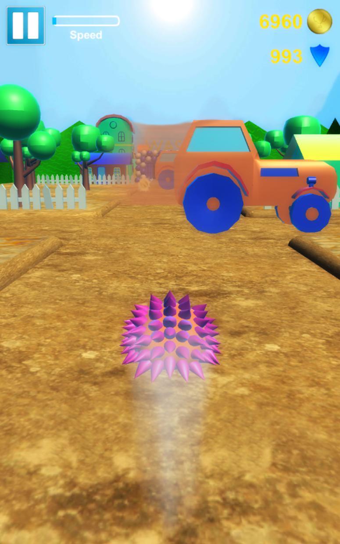 Hedgehog Pet Run 游戏截图5