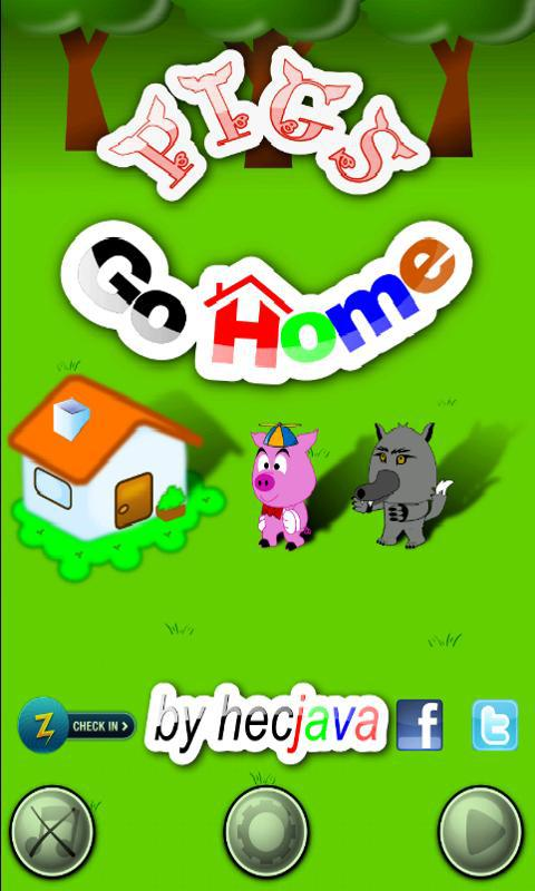 Pigs Go Home 游戏截图1