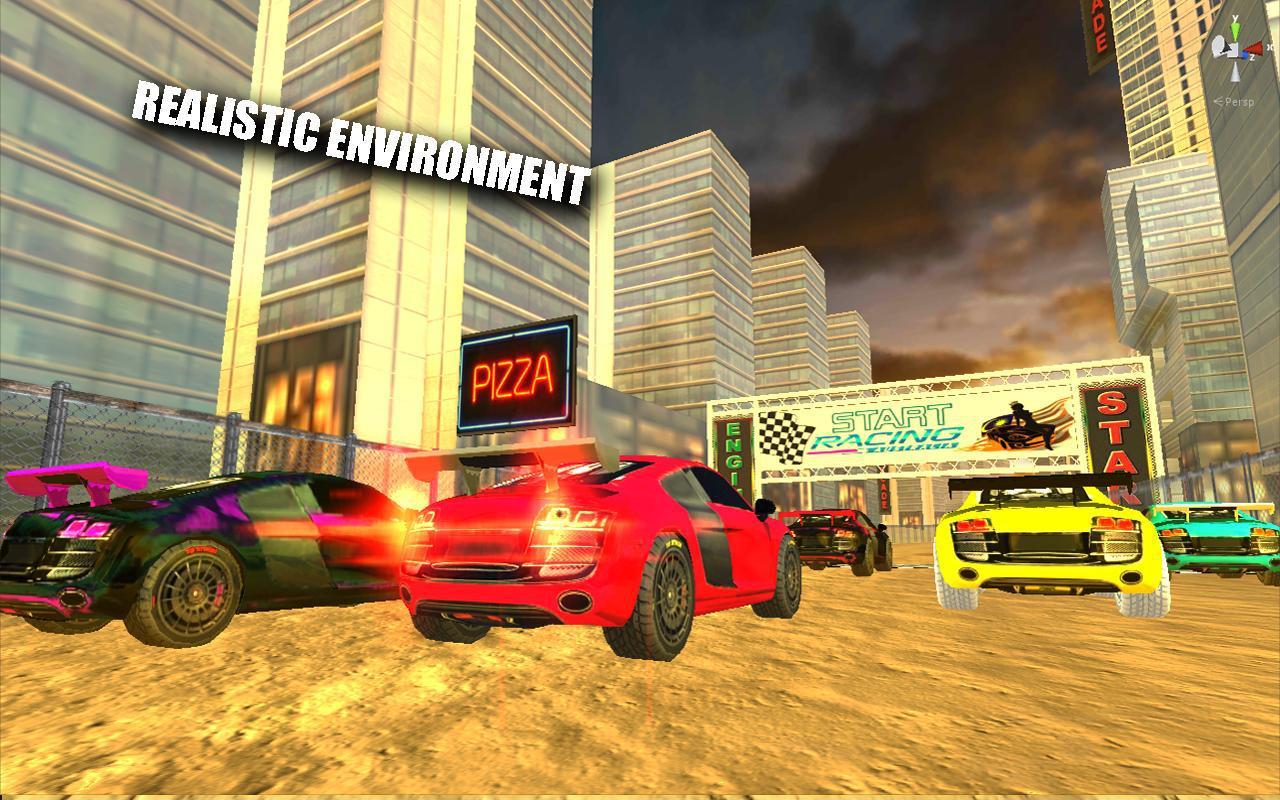 Extreme Smash Racing 游戏截图3