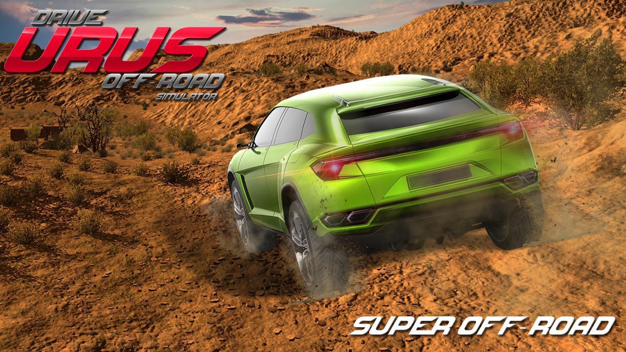 Drive Urus Off-Road Simulator 游戏截图3