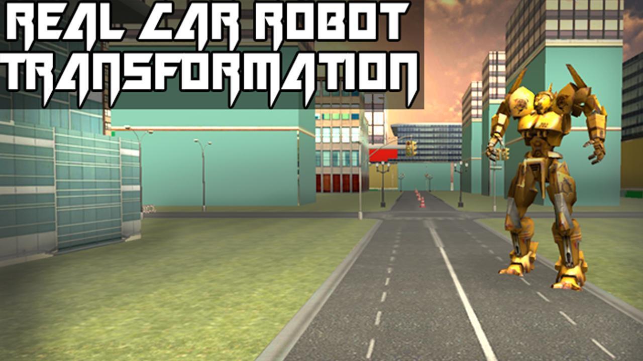 Real Car Robot Transformation 游戏截图1