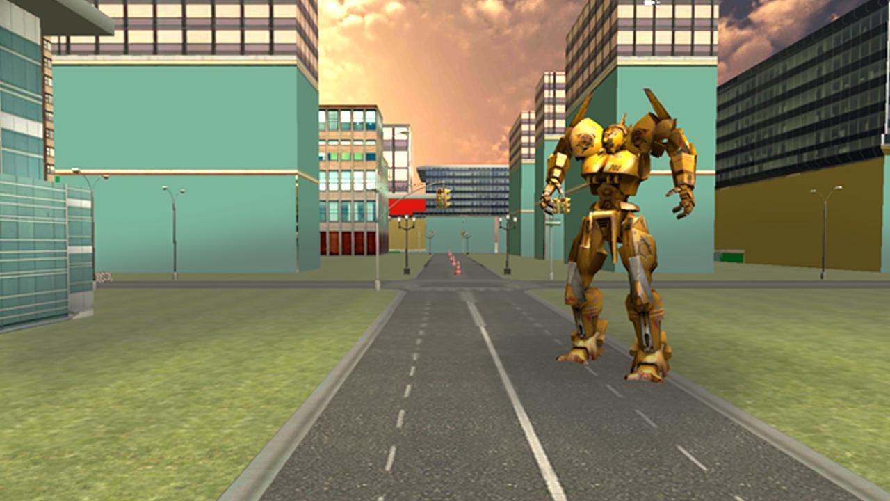 Real Car Robot Transformation 游戏截图2