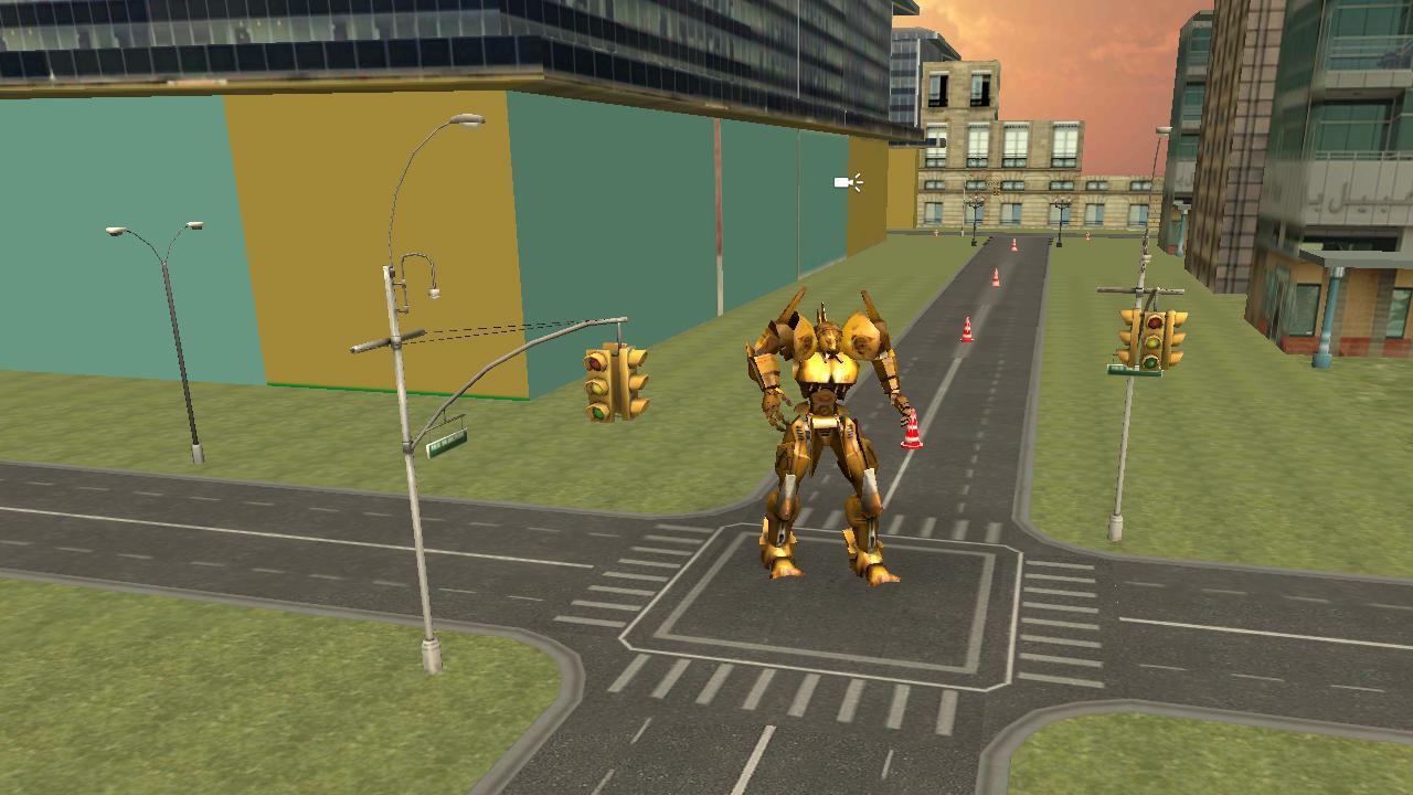 Real Car Robot Transformation 游戏截图3