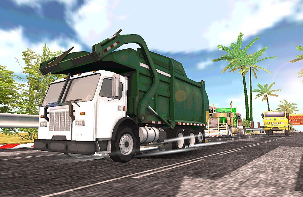 垃圾车亚军 游戏截图1