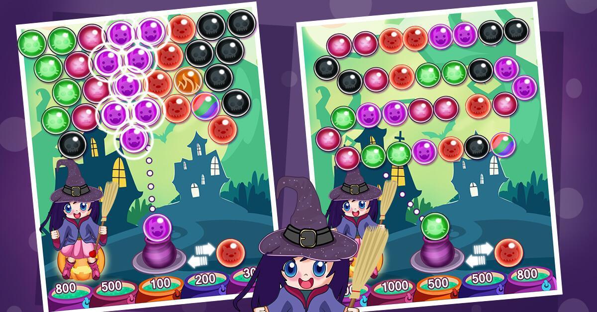 Witcher Magic Bubble 游戏截图1