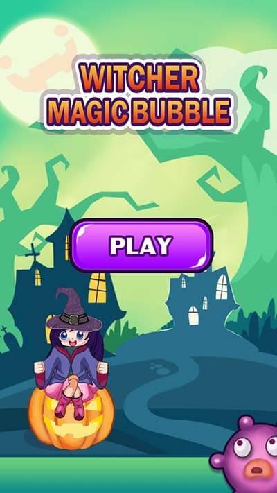Witcher Magic Bubble 游戏截图3
