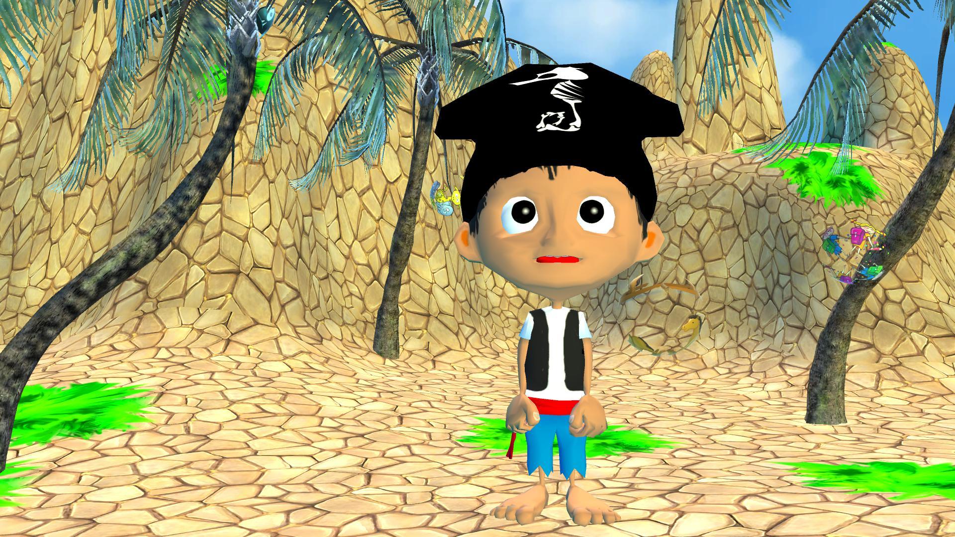 海盗海马:第一词 游戏截图1