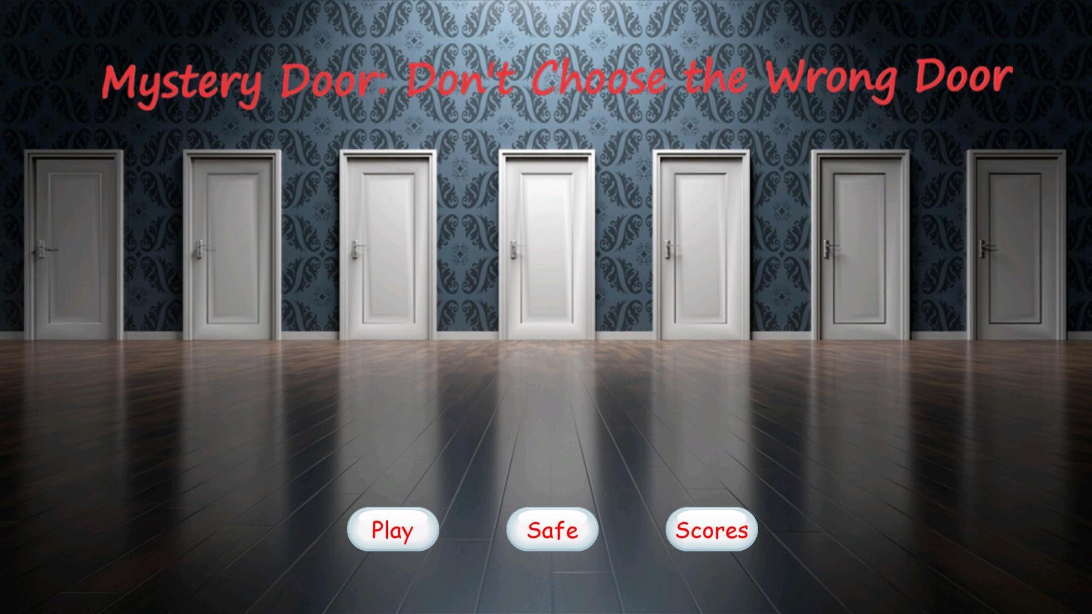 Mystery Door : Don't Choose the Wrong Door 游戏截图1