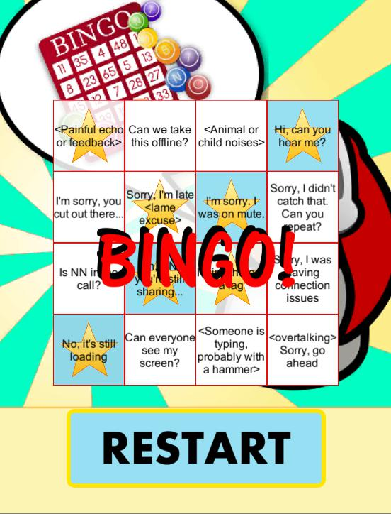 Conference Call App: Bingo! 游戏截图3