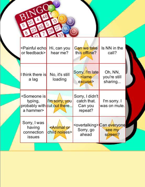 Conference Call App: Bingo! 游戏截图5