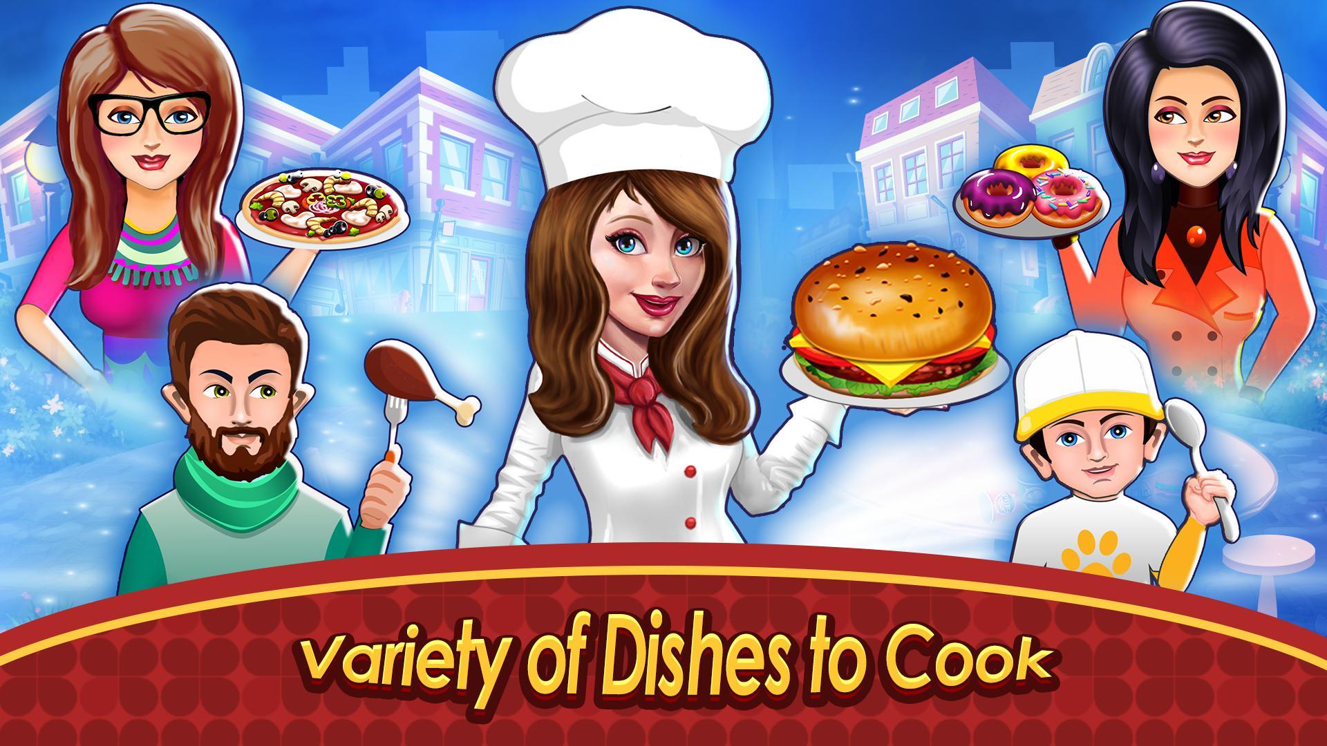 烹饪卡车:食物热狂热 游戏截图3