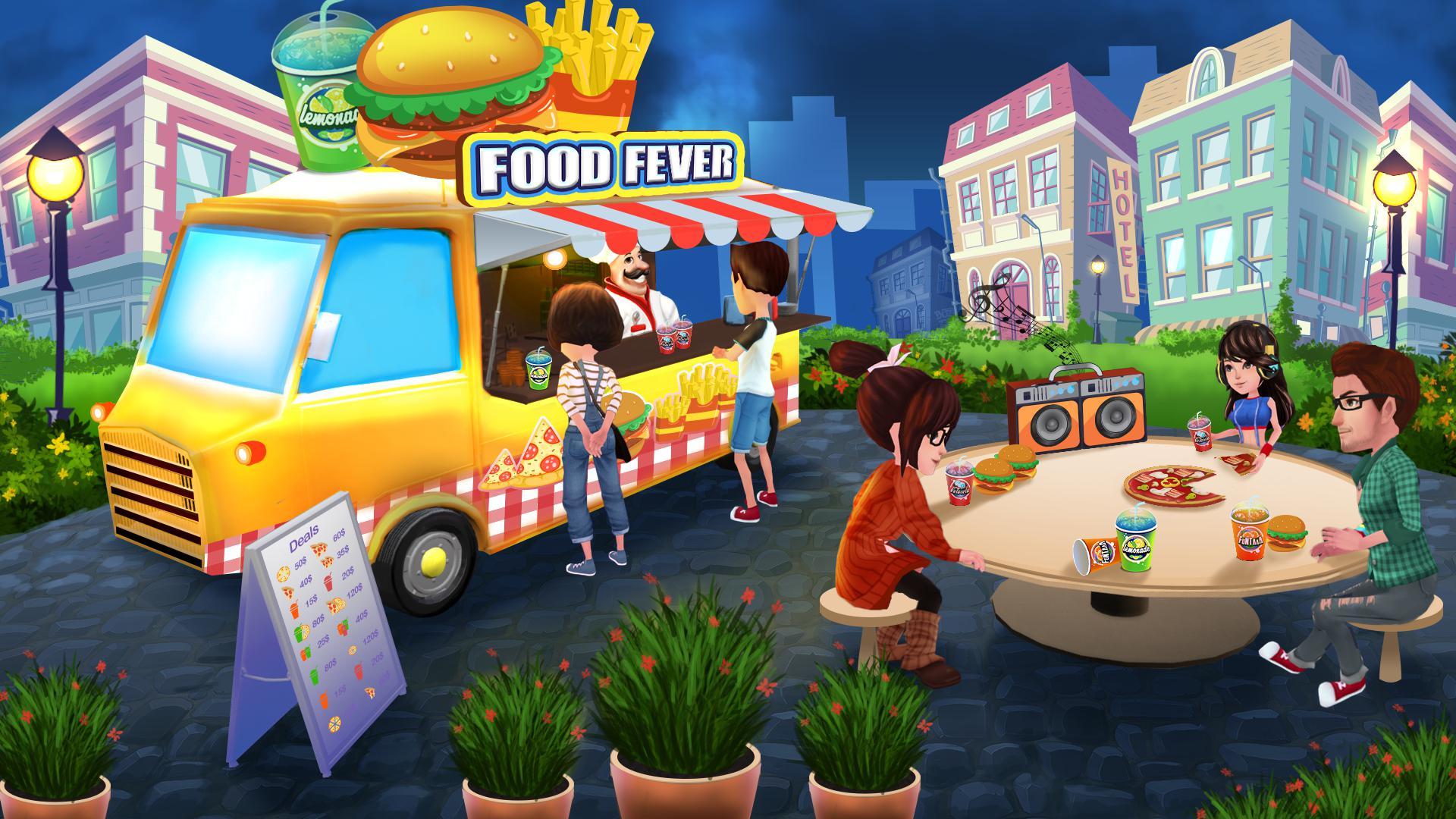 烹饪卡车:食物热狂热 游戏截图5