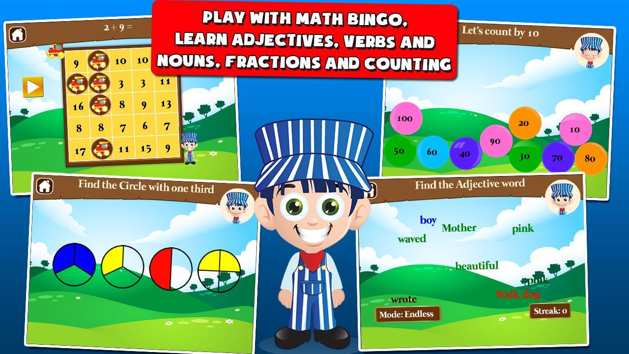儿童火车游戏一年级 游戏截图2