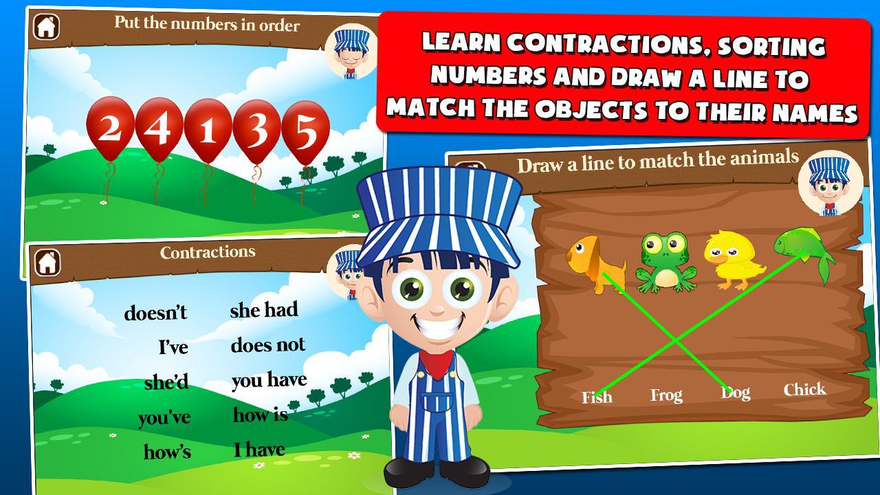 儿童火车游戏一年级 游戏截图3