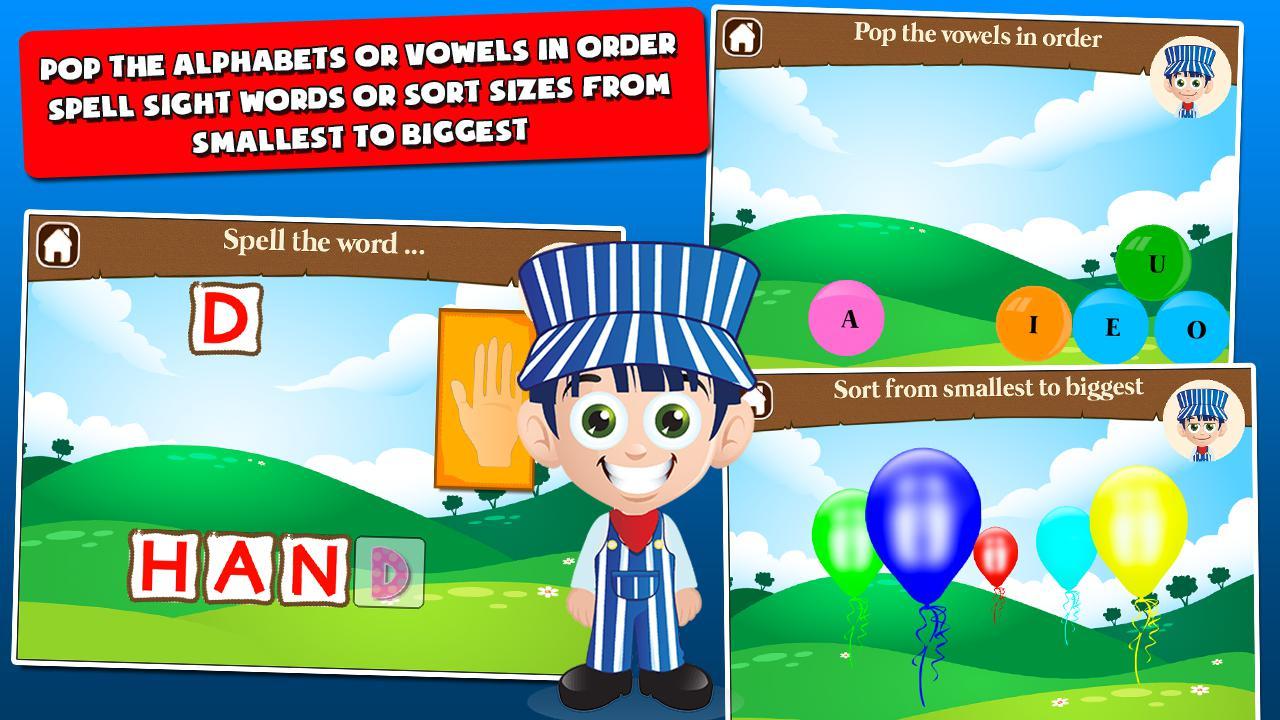 儿童火车游戏一年级 游戏截图4