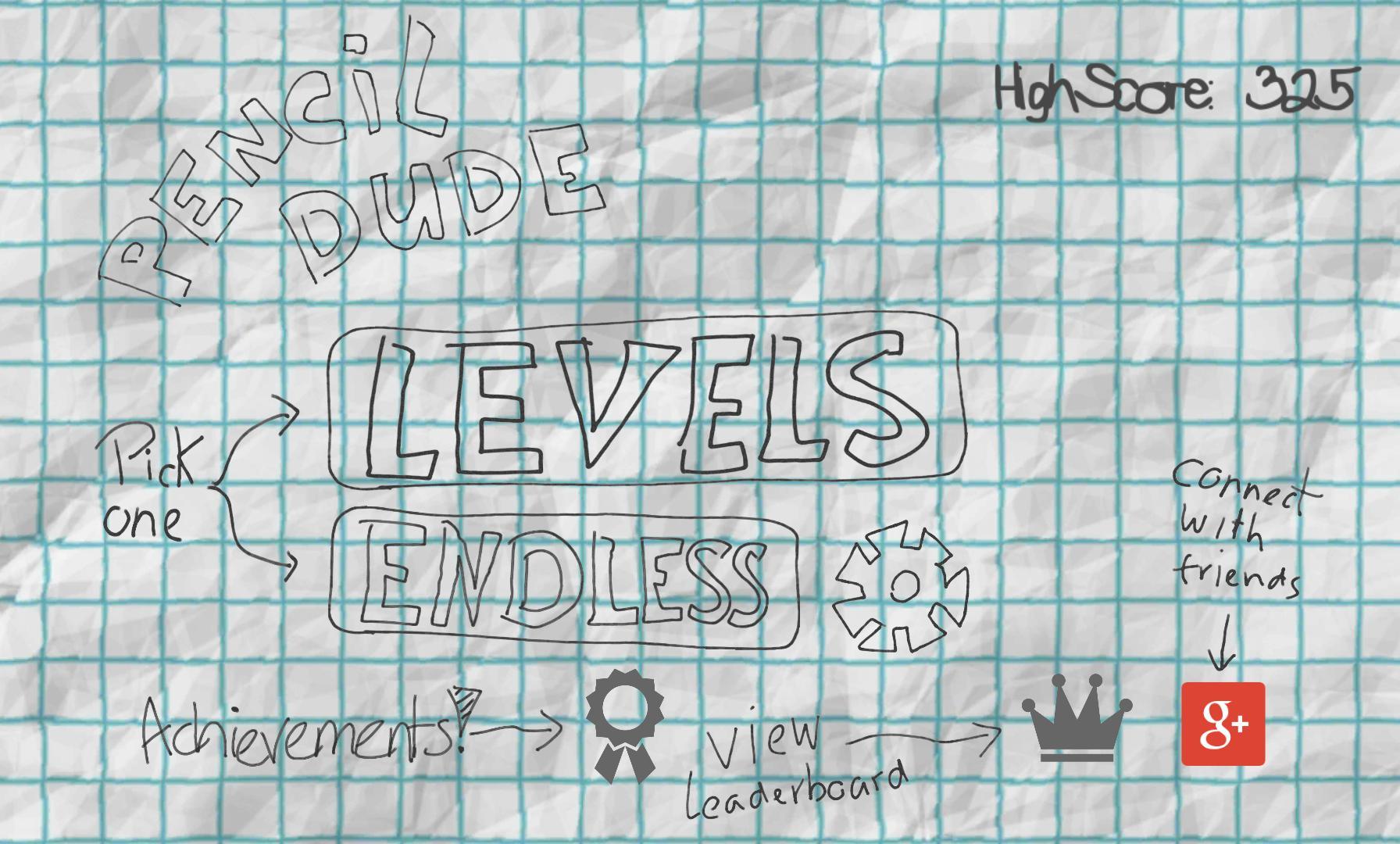 Pencil Dude 游戏截图1