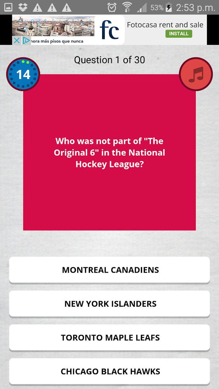 Sports Trivia Quiz 游戏截图4