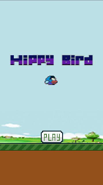 Hippy Bird 游戏截图1