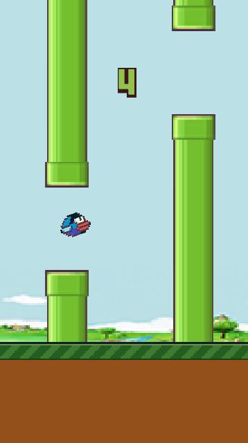Hippy Bird 游戏截图2