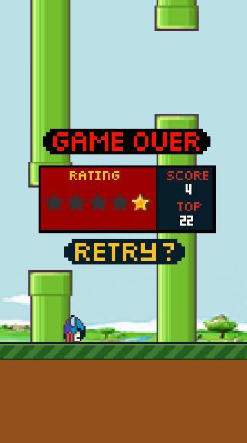 Hippy Bird 游戏截图3