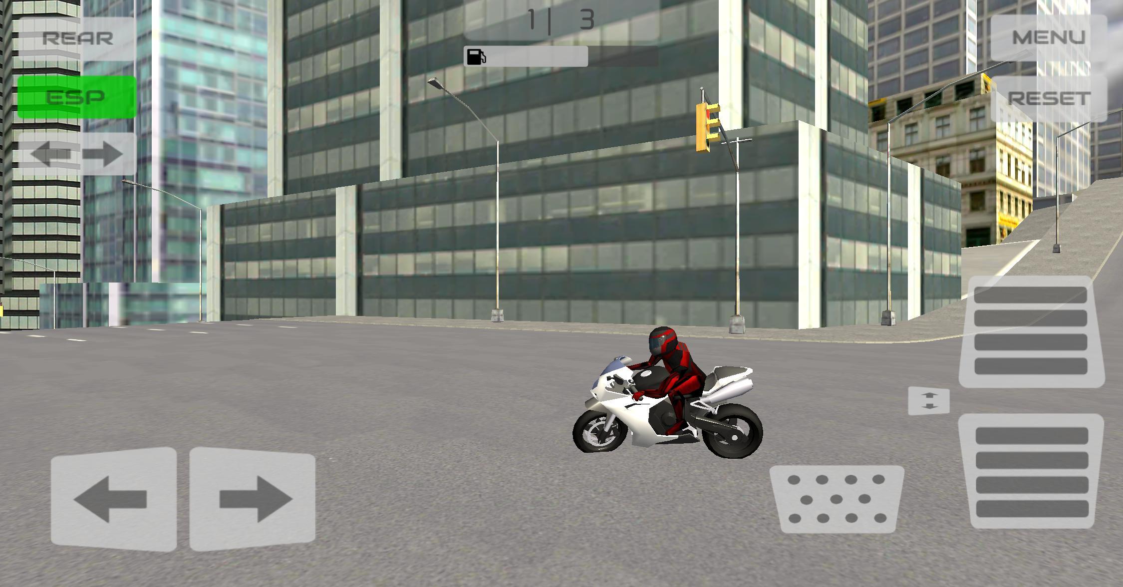 Motorbike City Drift 游戏截图2