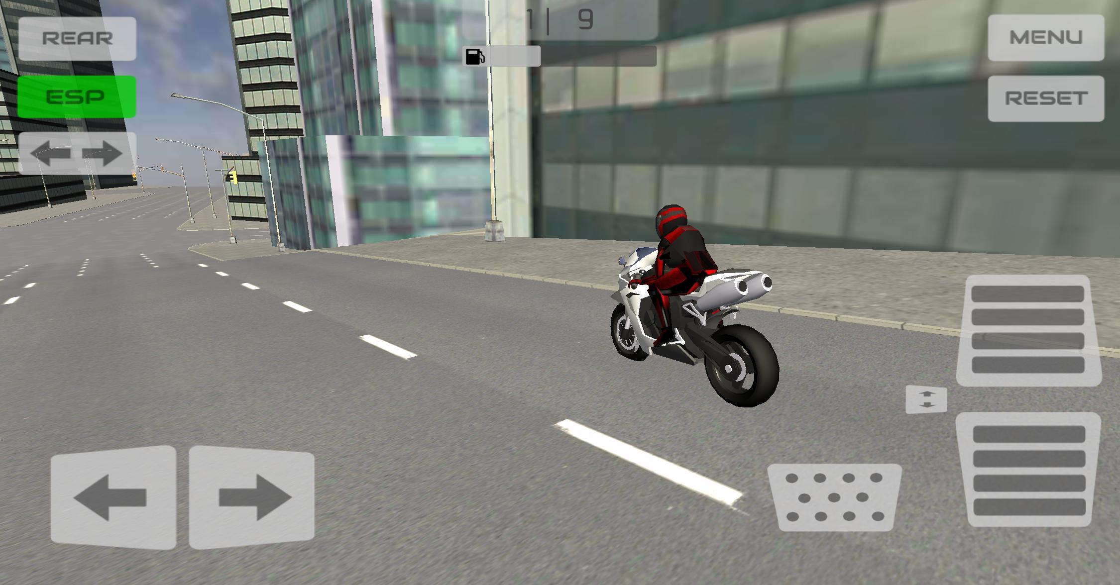 Motorbike City Drift 游戏截图3