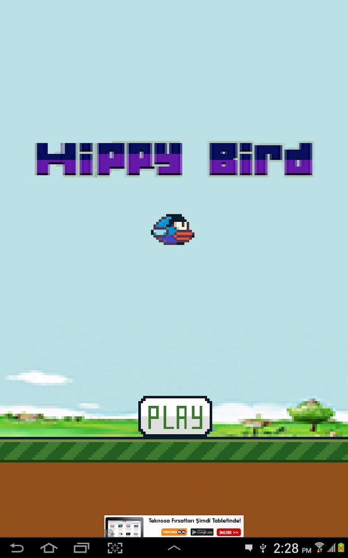 Hippy Bird 游戏截图4