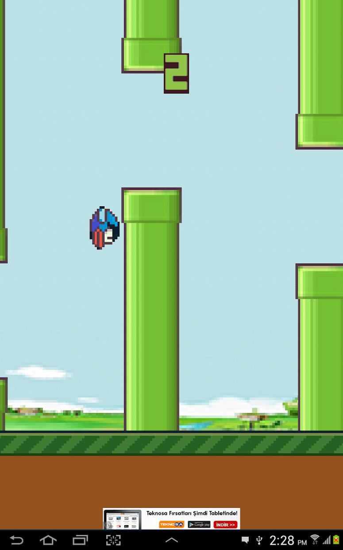 Hippy Bird 游戏截图5