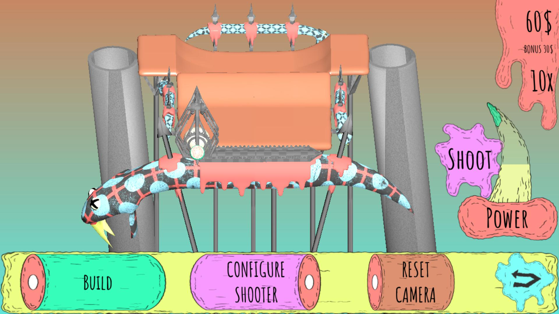 Sick Snake Strategy - A revolution game 游戏截图3