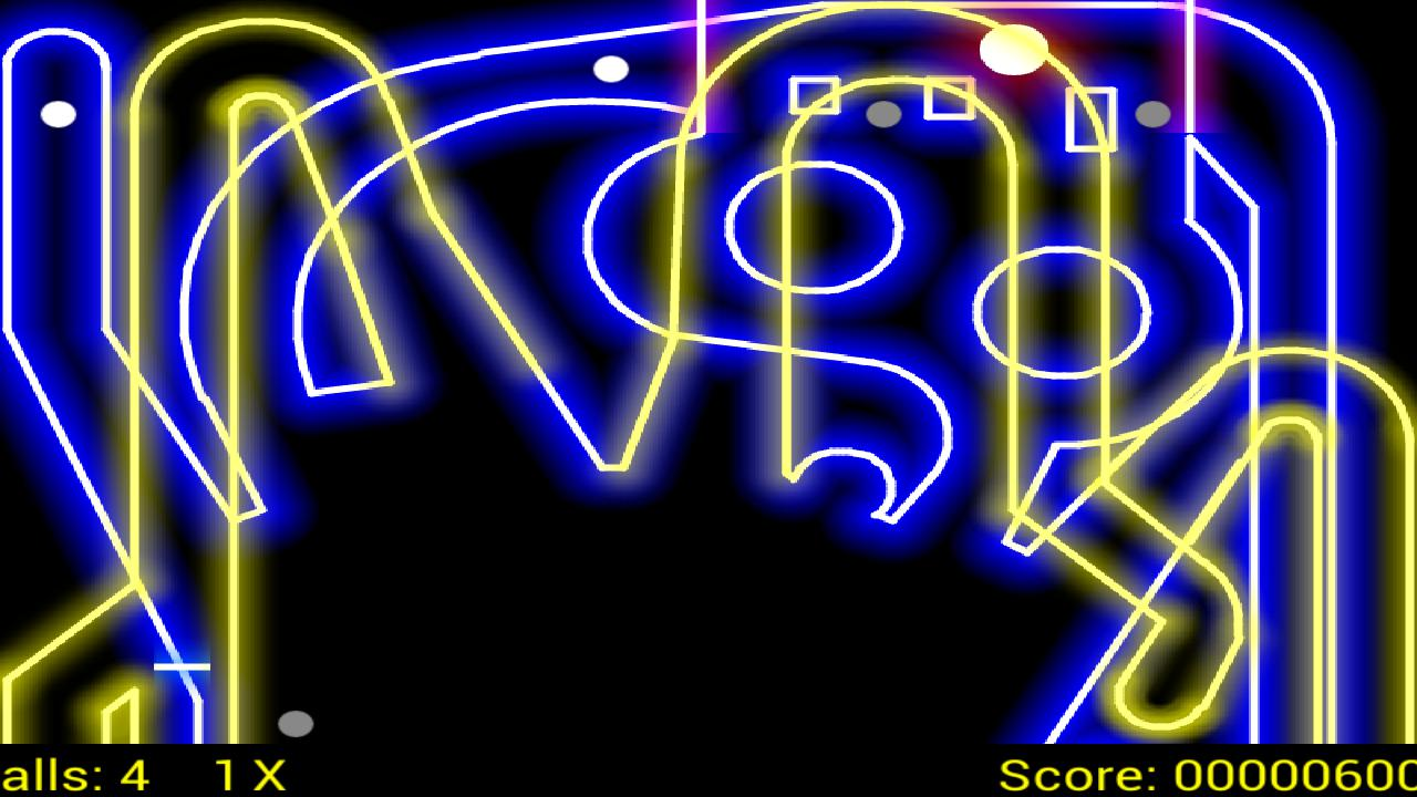 Glow PinBall 游戏截图2