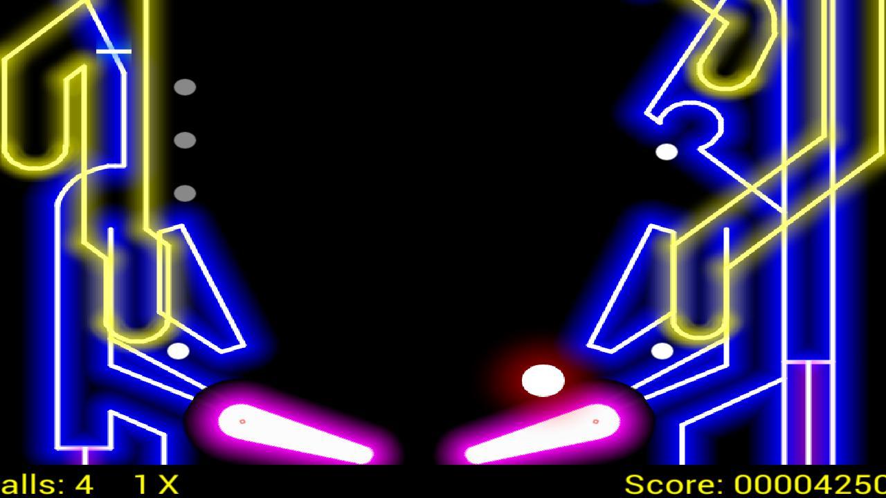 Glow PinBall 游戏截图3