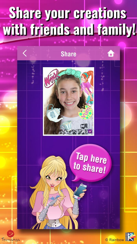 World of Winx Selfie Me 游戏截图4