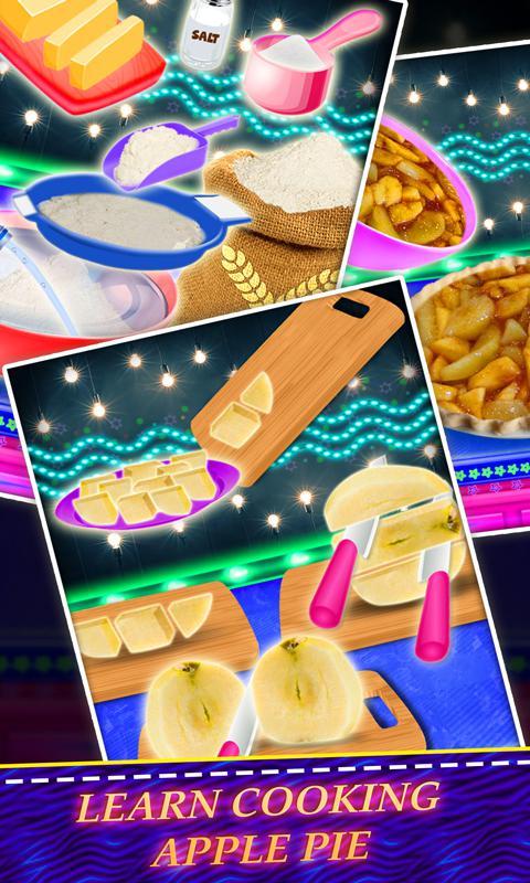 发光独角兽甜点! 彩虹煎饼&派 游戏截图4