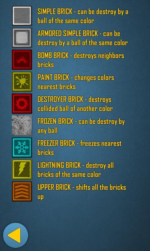 Bricks Crash 2 Free 游戏截图2