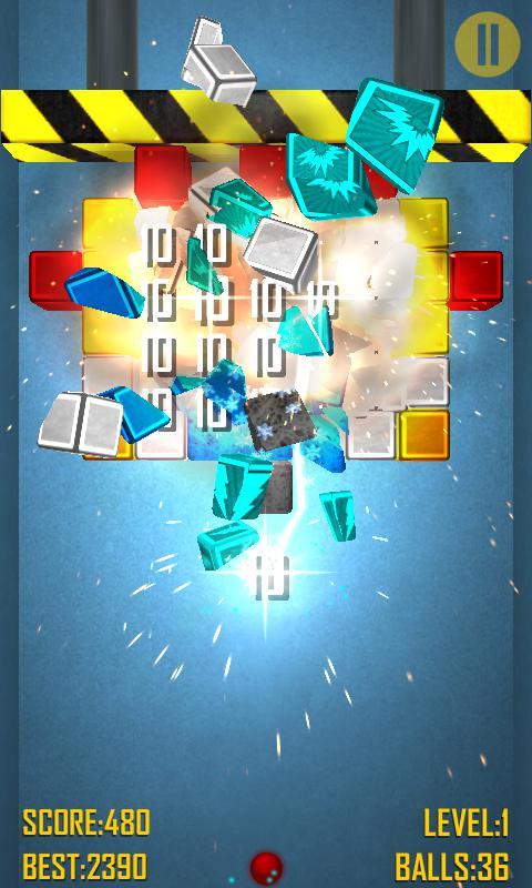 Bricks Crash 2 Free 游戏截图3