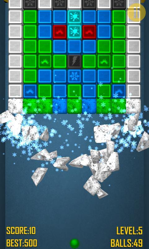 Bricks Crash 2 Free 游戏截图4