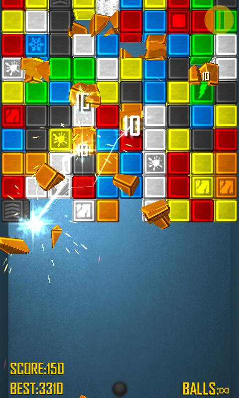 Bricks Crash 2 Free 游戏截图5