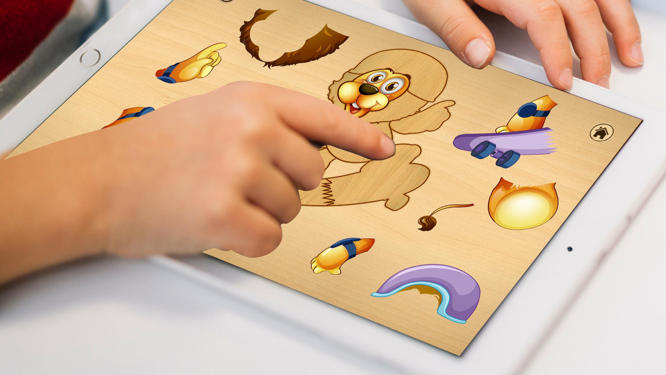 Kids Jigsaw Toddlers Puzzle Game 游戏截图1
