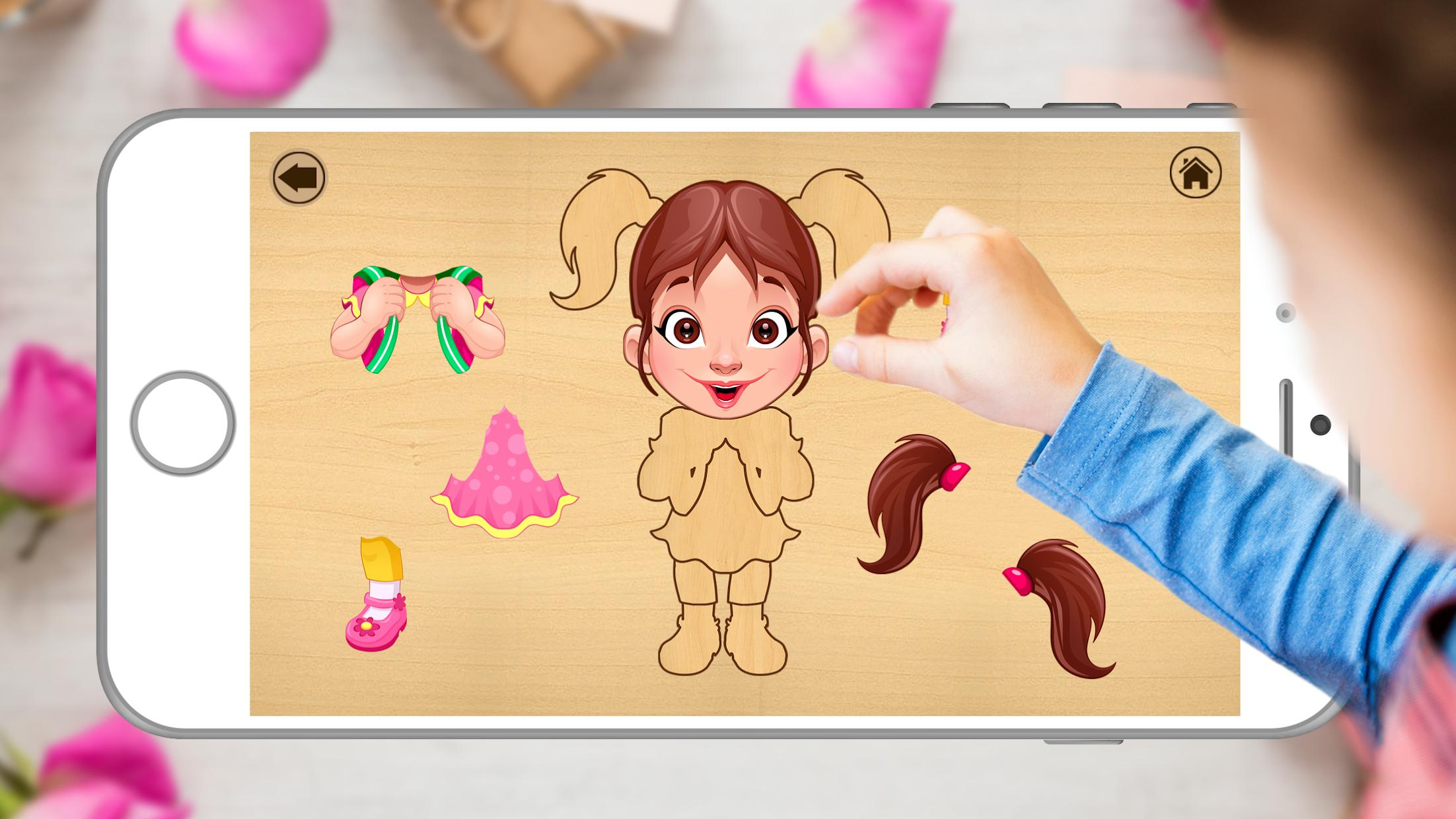 Kids Jigsaw Toddlers Puzzle Game 游戏截图4