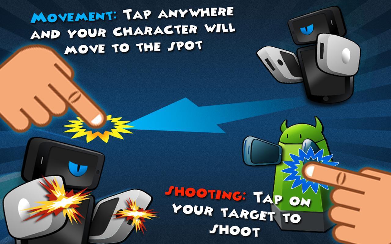 Phone Wars 游戏截图1