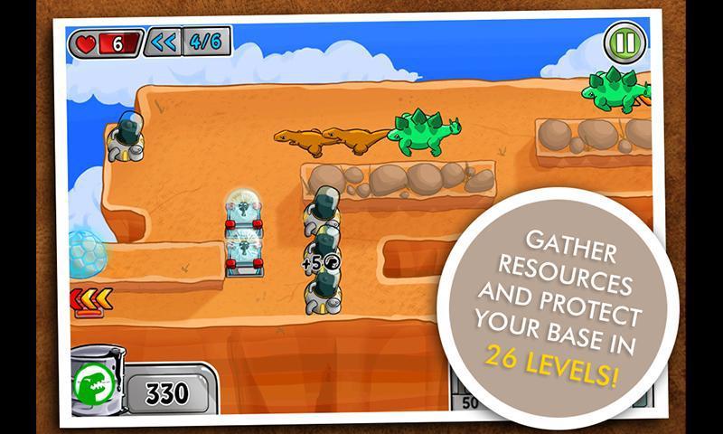 Dino Zone 游戏截图4