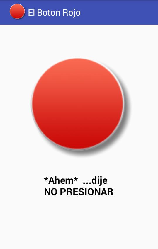 El Botón Rojo No Lo Presiones 游戏截图2