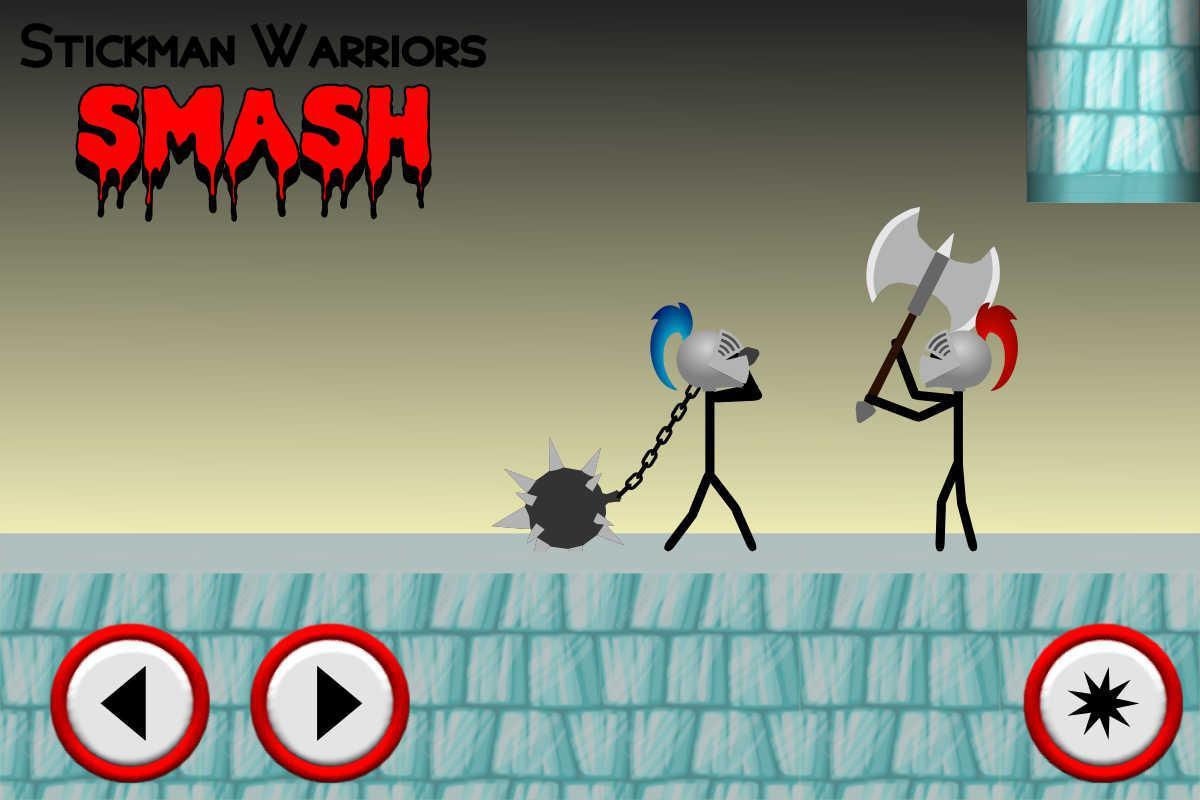 Stickman Warriors Smash 游戏截图3