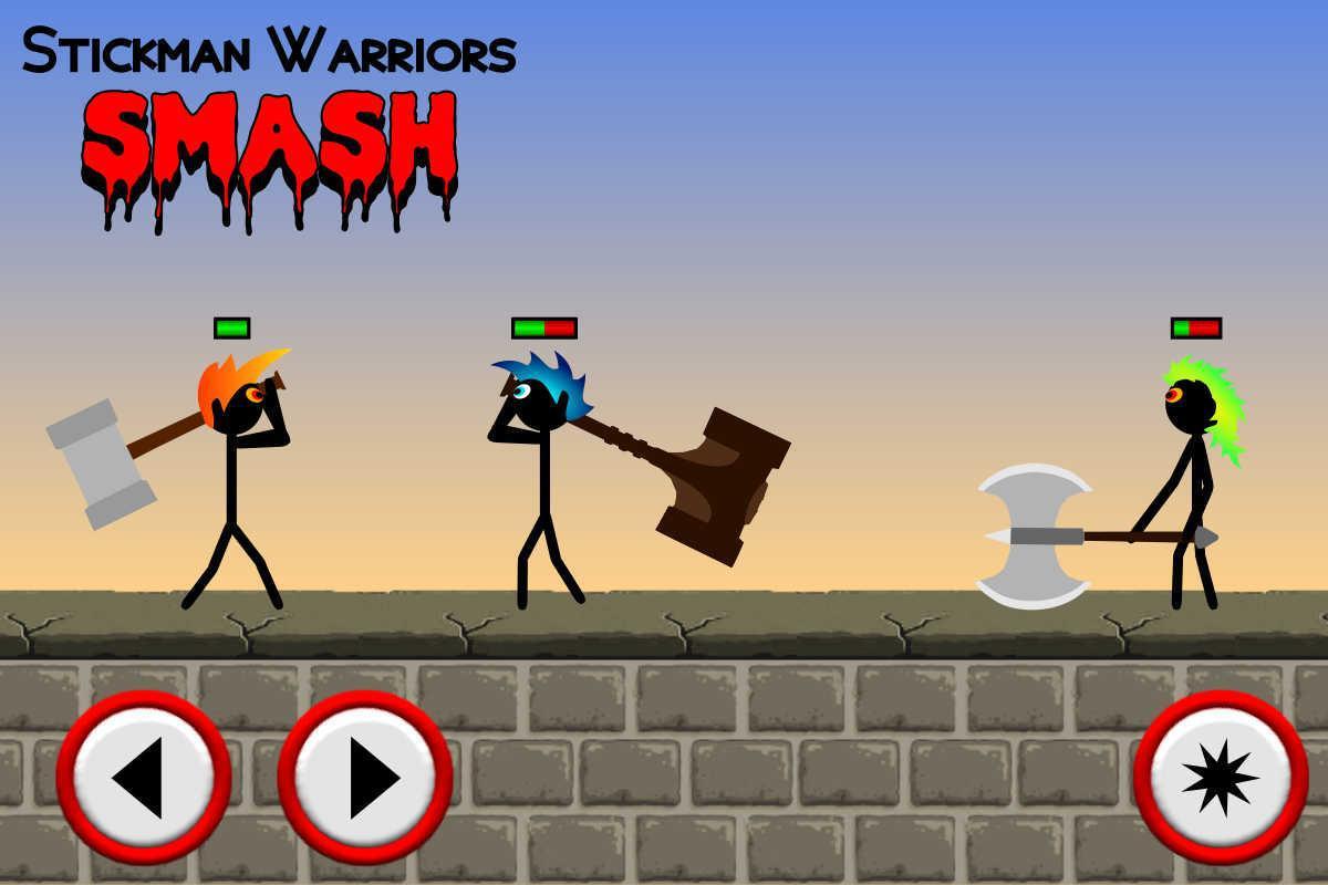 Stickman Warriors Smash 游戏截图5