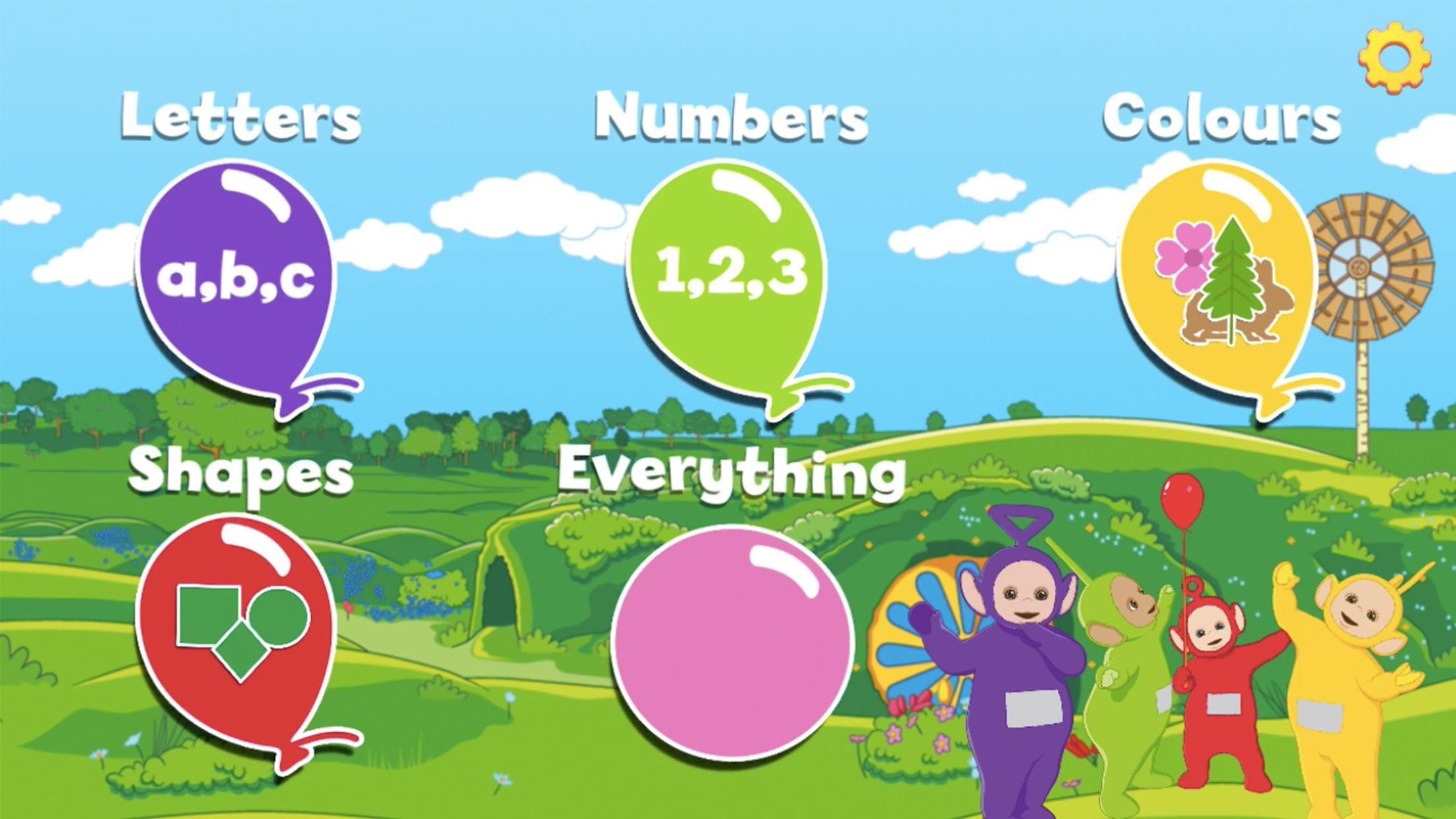 Teletubbies Balloon Pop Game For Kids 游戏截图1