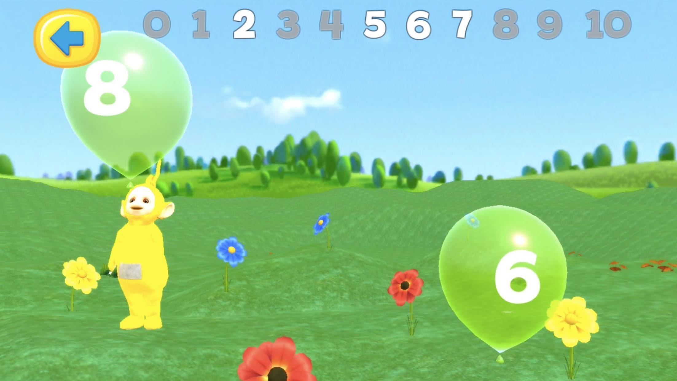 Teletubbies Balloon Pop Game For Kids 游戏截图3
