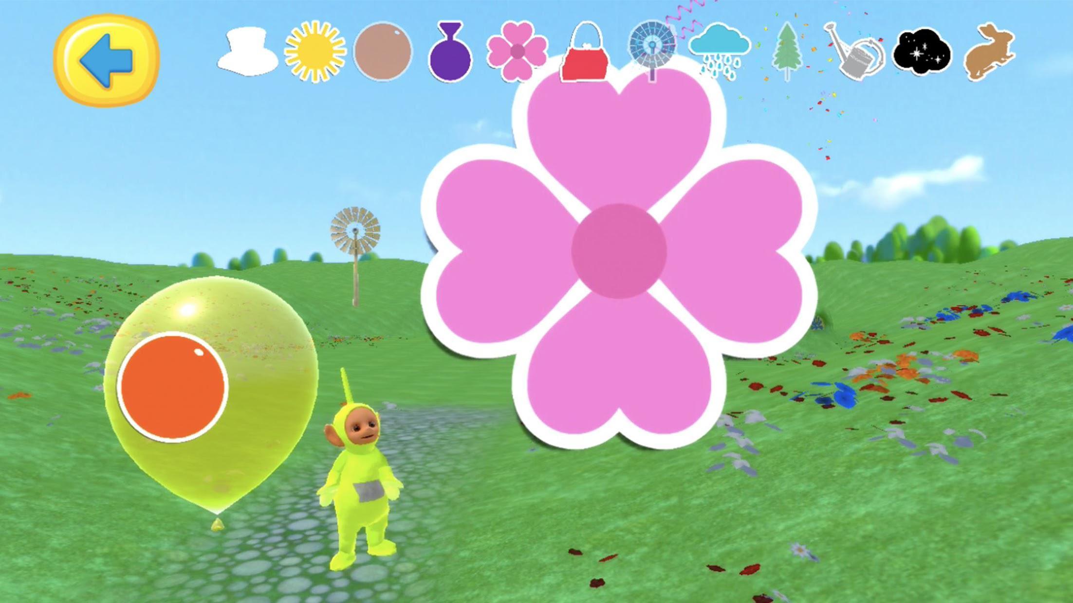 Teletubbies Balloon Pop Game For Kids 游戏截图4