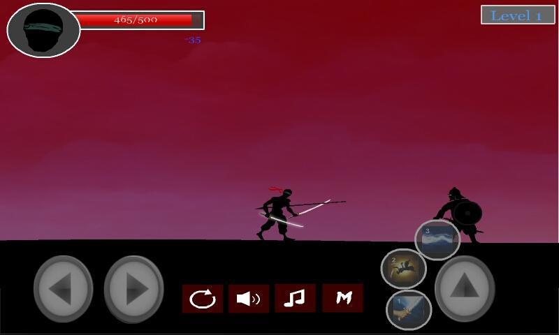 Black Shadow 游戏截图4