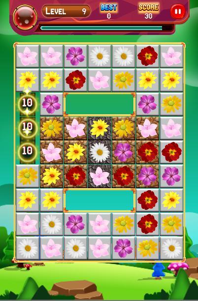 Crazy Blossom Garden 游戏截图2