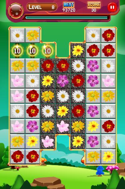 Crazy Blossom Garden 游戏截图3